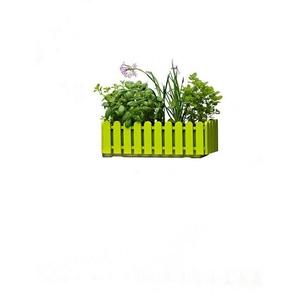 Emsa Blumenkasten »LANDHAUS«, grün (BxT: 50x20 cm)