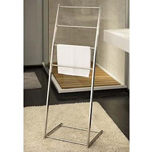 GGG-Möbel Handtuchständer Edelstahl Handtuchhalter 4 Sprossen Edelstahl matt