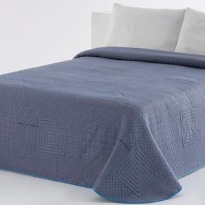 Vialman Home Tagesdecke »Kari«, 140x210 cm, blau