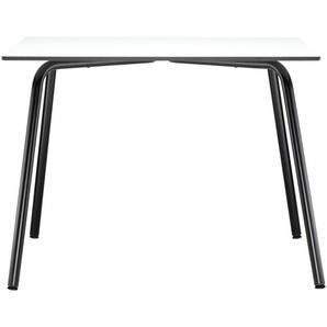 Thonet - S 1040 All Seasons Tisch - warmgrau - weißes Laminat - 100 x 100 cm