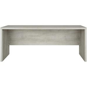 Schreibtisch | grau | 180 cm | 74 cm | 69 cm | Möbel Kraft