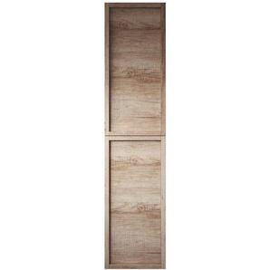 Badezimmer Schrank Vermont 172 cm Nature wood – Regal Schrank Hochschrank Schrank Möbel - BADPLAATS