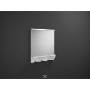 Burgbad Eqio Spiegel Set 769x650x150 mm, Weiß Hochglanz
