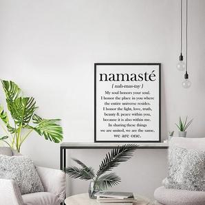 Bild Namasté