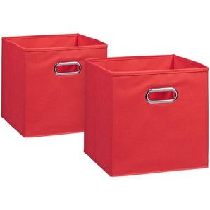 Zeller Aufbewahrungsbox »2er Set«, 28 x 28 cm