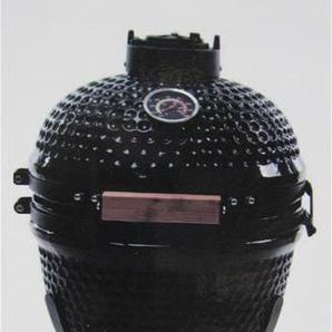 Kamado Action 13-Zoll schwarz Keramikgrill