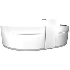 Theke »Wellington« weiß, fm Büromöbel, 394x123x92 cm