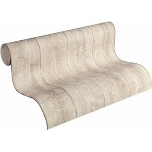 Vliestapete »Best of Wood`n Stone in Vintage Holz Optik«, gestreift, FSC®