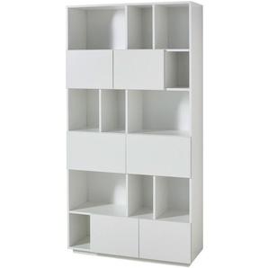 : Regal, Weiß, B/H/T 100 194 36