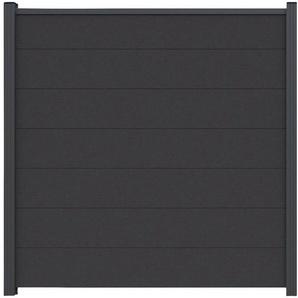 LUOMAN Set: Sichtschutzelement BxH: 180x180 cm, Pfosten zum einbetonieren