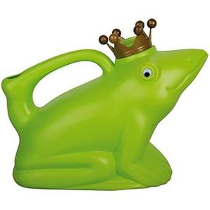 Esschert Design Gießkanne Froschkönig, grün, 24.3 x 11.6 x 19.5, TG68