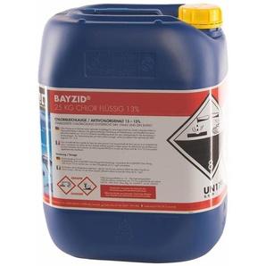 4 x 25 kg BAYZID® Chlor 13% flüssig für Pools - HöFER CHEMIE