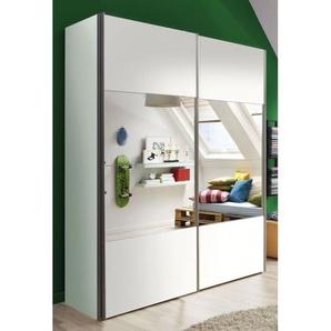 LIV´IN Kleiderschrank SYDNEY Polarweiß ca. 200 x 216 x 68 cm