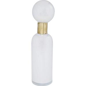 Vase Pure Weiß Lid 40cm