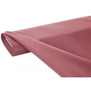 Dekostoff Velvet uni, altrosa, ca. 145 cm breit