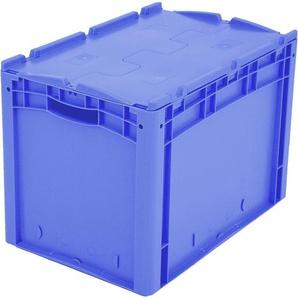 BITO-Lagertechnik Eurostapelbehälter XL Deckel/Kufe / XLD64421 600x400x420 blau Deckel
