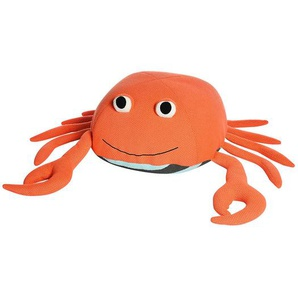 Sitzpouf Krabbe, D:56cm x H:37cm, koralle