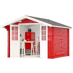Alpholz Gartenhaus Anna-44 ISO Tauchimprägnierung ab Werk ohne Tauchimprägnierung, Imprägnierung & Farbbehandlung Lasur ab Werk ohne Farbbehandlung