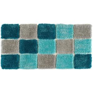 Tom Tailor Handtuft-Teppich  Soft Box | türkis/petrol | 100 % Polypropylen | 65 cm | Möbel Kraft