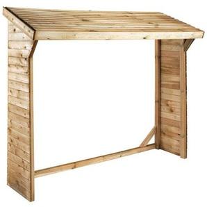 Holzunterstand - 1,58 m² - 2,20 x 0.69 x 1,83 m - 2 Ster - HABITAT ET JARDIN