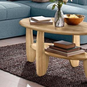 Premium Collection By Home Affaire Couchtisch, beige, FSC®-zertifiziert