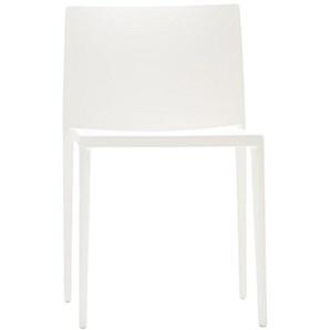 Andreu World Stuhl Thermo Polymer stapelbar Kunststoff 47x 51x 93cm weiß