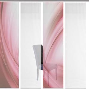 Schiebegardine »4ER SET UNO«, Vision S, Paneelwagen (4 Stück), Schiebevorhang 4er Set Digitaldruck