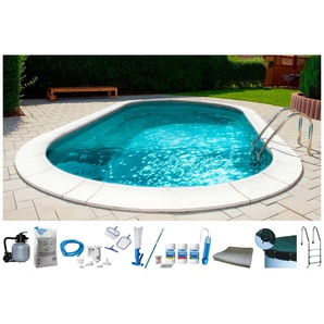 MYPOOL Set: Ovalpool , 10-tlg., BxLxH: 300x490x120 cm