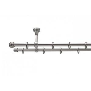 Gardinenstange »Stilgarnitur auf Maß Deckenmontage Kugel«, metablo, Ø 16mm mm, Wunschmaßlänge