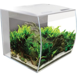 Fluval Aquarium-Set Flex LED 34 l Weiß