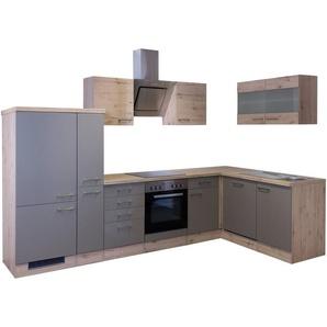 Küchenzeile mit E-Geräten »Winkel-Küchenzeile »Riva«, 310 x 170 cm«