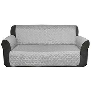 Dexinx Wasserdichte Sofa Protector Schutzhülle Hund Katze Pet Wasserdichte Möbel Schutzhülle Grau 116 * 188cm