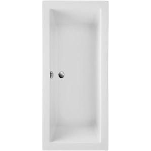 Körperformwanne Cubic Weiß 170 cm x 75 cm