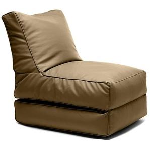 SittingBull® Flex Sitzsack-Liege Almond