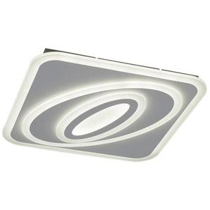 : LED-Deckenleuchte, Weiß, B/H/T 55,0 6,0 55,0