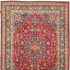 Perserteppich Mashhad 346x251 Handgeknüpft
