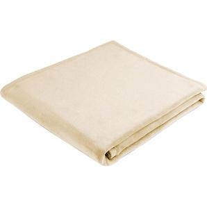 Biederlack Wohndecke »Uno Cotton«, 150x200 cm, braun