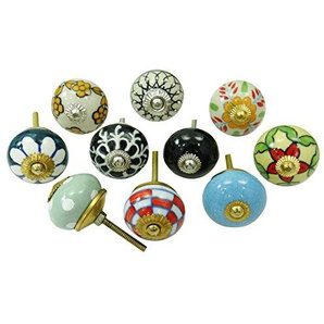 Vintage-Keramik Schublade Knöpfe Kabinett Hardware Dekorative Knöpfe