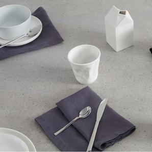 4 x  Essentials Abby Kaffeebecher, Porzellan in Weiss