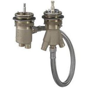 hansgrohe Grundkörper für 2-Loch Wannenrandarmatur mit Thermostat - 13550180