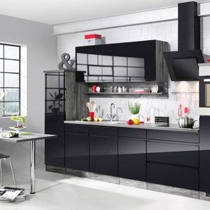 HELD MÖBEL Küchenzeile mit E-Geräten »Virginia«, Breite 290 cm, mit Induktionskochfeld