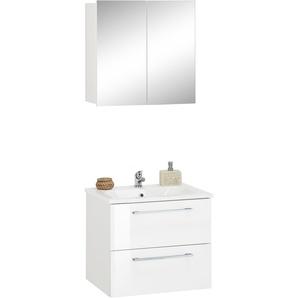 trendteam Waschtisch-Set »Intenso«, 2er Set, FSC®-zertifiziert, weiß