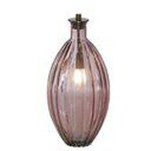 Trendo - Leuchtobjekt Glas rosa