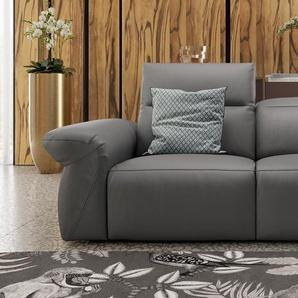 Ledercouch 2-Sitzer VENEDIG Ledergarnitur Relaxsofa