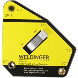 WELDINGER SM-3 schaltbarer Multiwinkel-Schweißmagnet (111 x 105 x 28 mm bis 35 kg)