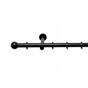 Gardinenstange »Stilgarnitur auf Maß Kugel glänzend«, metablo, Ø 19 mm, 1-läufig, Wunschmaßlänge