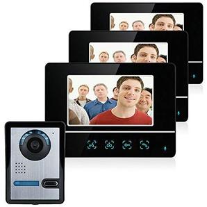 7 Zoll intelligente Video-Türklingel-Telefonsprechanlage