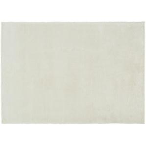 Tuft-Teppich  Plush ¦ weiß ¦ 100% Polyester, Synthethische Fasern ¦ Maße (cm): B: 90 Teppiche  Wohnteppiche  Hochflorteppiche » Höffner