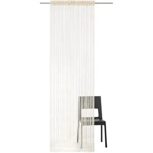 Fadenvorhang Fao-Uni my home Stangendurchzug 1 Stück