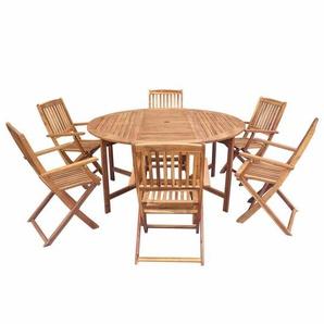 6-Sitzer Gartengarnitur